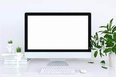 Anzeigen-Modell im Innenraum Schablonengerät für Modell stockfotografie