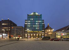 Anzeiger-Hochhaus in Hannover Stockfoto