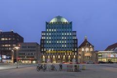 Anzeiger-Hochhaus i Hannover Royaltyfria Bilder