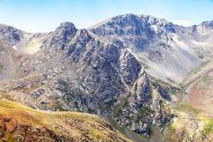 Anzer Plateau landscape mountain peak stock photos