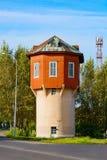 Anzhero-Sudzhensk, der alte Wasserturm Lizenzfreie Stockbilder