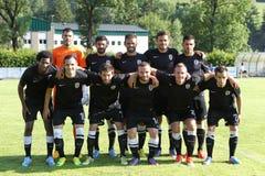 Anzi против PAOK Стоковая Фотография