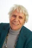 Anziana del ritratto Fotografie Stock Libere da Diritti