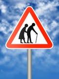 Anziani Immagine Stock Libera da Diritti