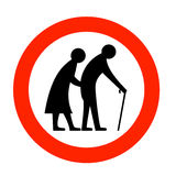 Anziani Immagini Stock