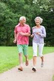 Anziani attivi Fotografia Stock Libera da Diritti