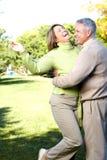 anziani degli anziani delle coppie Immagine Stock