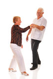 Anziani di Jitterbugging Fotografia Stock Libera da Diritti