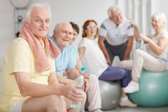 Anziani stanchi Immagini Stock Libere da Diritti