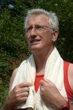 Anziano attivo Fotografie Stock