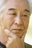 anziano del ritratto dell'uomo immagini stock libere da diritti