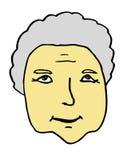 Anziano della nonna Fotografia Stock