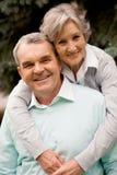 anziano delle coppie Fotografia Stock Libera da Diritti