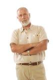 Anziano di disapprovazione Fotografia Stock