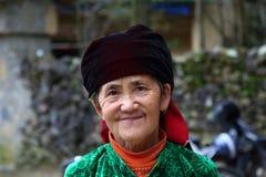 Anziano di Hmong Immagine Stock
