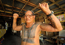Anziano di Kalinga Fotografia Stock Libera da Diritti