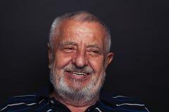 Anziano di risata Immagini Stock