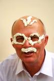 Anziano divertente Fotografie Stock Libere da Diritti
