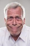 Anziano divertente Immagini Stock