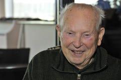 Anziano felice Fotografia Stock Libera da Diritti