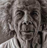 Anziano invecchiato Fotografia Stock Libera da Diritti