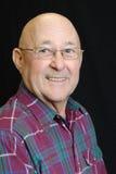 Anziano maschio felice Immagini Stock Libere da Diritti