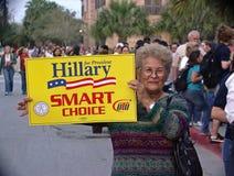 Anziano nell'elezione Immagine Stock Libera da Diritti