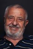 Anziano sorridente 2 Fotografia Stock