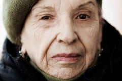 anziano vicino in su immagini stock libere da diritti