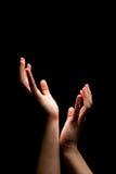 Anziehende Hände Lizenzfreie Stockbilder