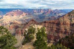 Anziehende szenische Ansicht der atemberaubenden Landschaft in Nationalpark Grand Canyon s, Arizona, US Lizenzfreie Stockfotos