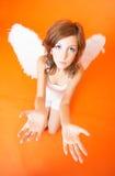 Anziehender Engel Stockfoto