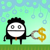 Anziehung des Reichtums Lizenzfreies Stockfoto