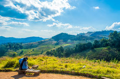 Anziehungskräfte in Cham Thailands Montag, Chiang Mai, Thailand - Tourist Lizenzfreies Stockfoto