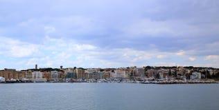 Anzio και Nettuno, Ιταλία Στοκ φωτογραφία με δικαίωμα ελεύθερης χρήσης