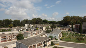 Anzio kyrkogård Royaltyfri Foto