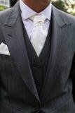 Anzug und Bindung Lizenzfreie Stockbilder