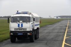 17 août 2018, la Russie, Tyumen, salon de l'aéronautique images libres de droits
