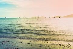 Ao彼处的海湾,普吉岛,泰国风景  库存图片