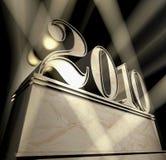 Año 2010 Imágenes de archivo libres de regalías