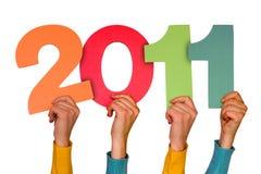 Año 2011 Fotografía de archivo libre de regalías