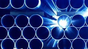 Aço azul Fotos de Stock