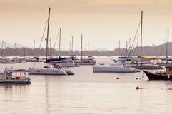 Ao Chalong marina, Phuket Thailand. Stock Image