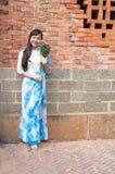 Ao dai Vietnam Fotos de archivo libres de regalías