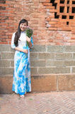Ao dai Vietname Fotos de Stock Royalty Free
