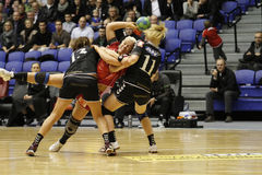 AO de Alborgue - Handball de FCM Foto de Stock Royalty Free