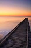 Ao horizonte Imagem de Stock Royalty Free