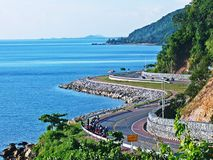 Ao Khung Wiman. Viewpoint is part of Ao Khung Wiman. When driving down the bay Stock Photos
