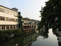 Ao lado do rio do qinhuai Imagem de Stock