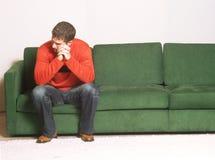 Ao longo da depressão. Imagem de Stock